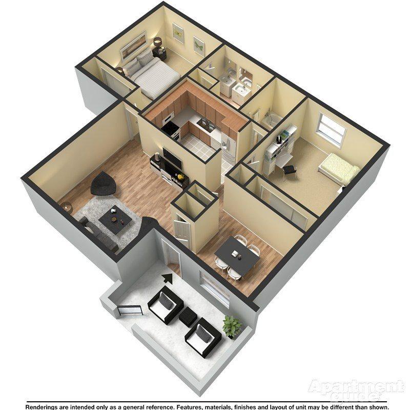 Columbia Floor Plan 2