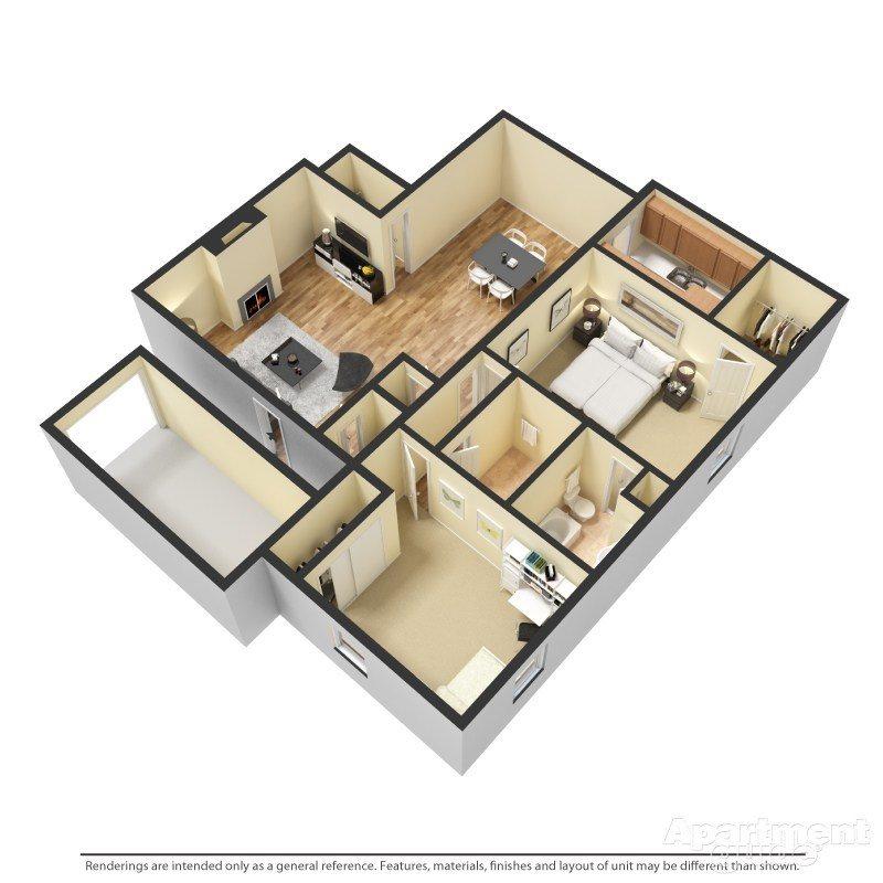 Monticello Floor Plan 7