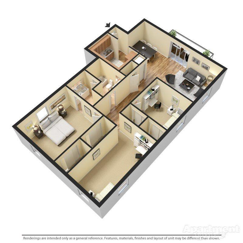 Princeton Floor Plan 3