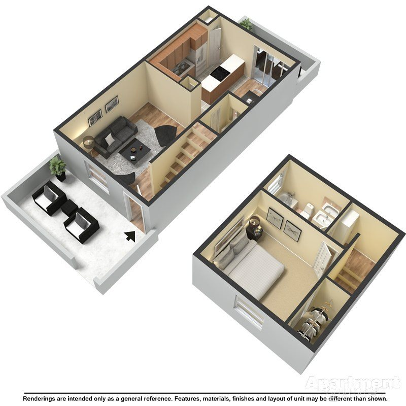 Smithville Floor Plan 1
