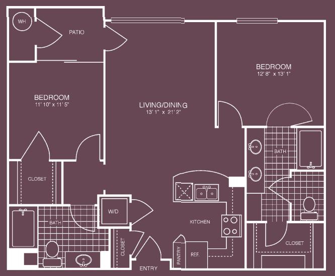 Motif Apartments For Rent in Woodland Hills, CA 91367 2 bedroom 2 bath