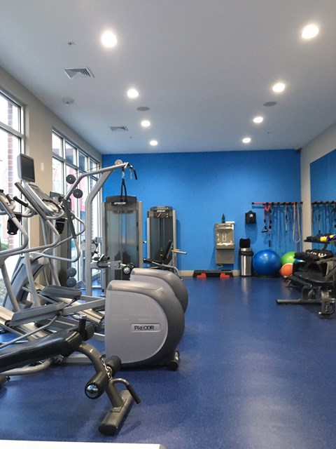 Fitness Center at West Side Lofts, Red Bank, NJ