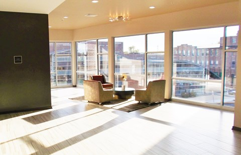 Large living Rooms at West Side Lofts, Red Bank NJ 07701