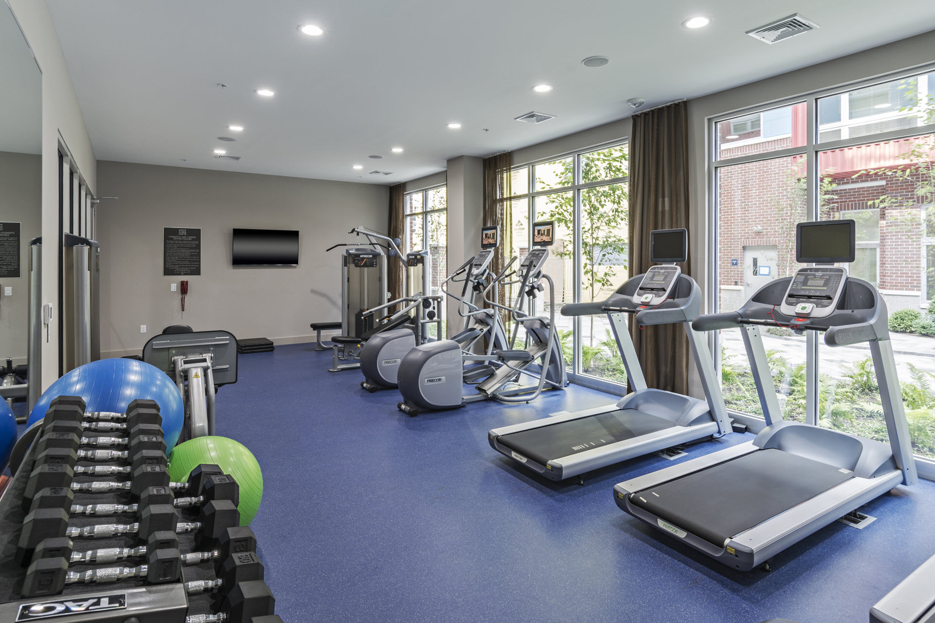 State-of-the-Art Fitness Center at West Side Lofts, Red Bank NJ 07701