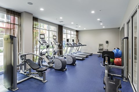 24-Hour Fitness Center at West Side Lofts, Red Bank NJ 07701