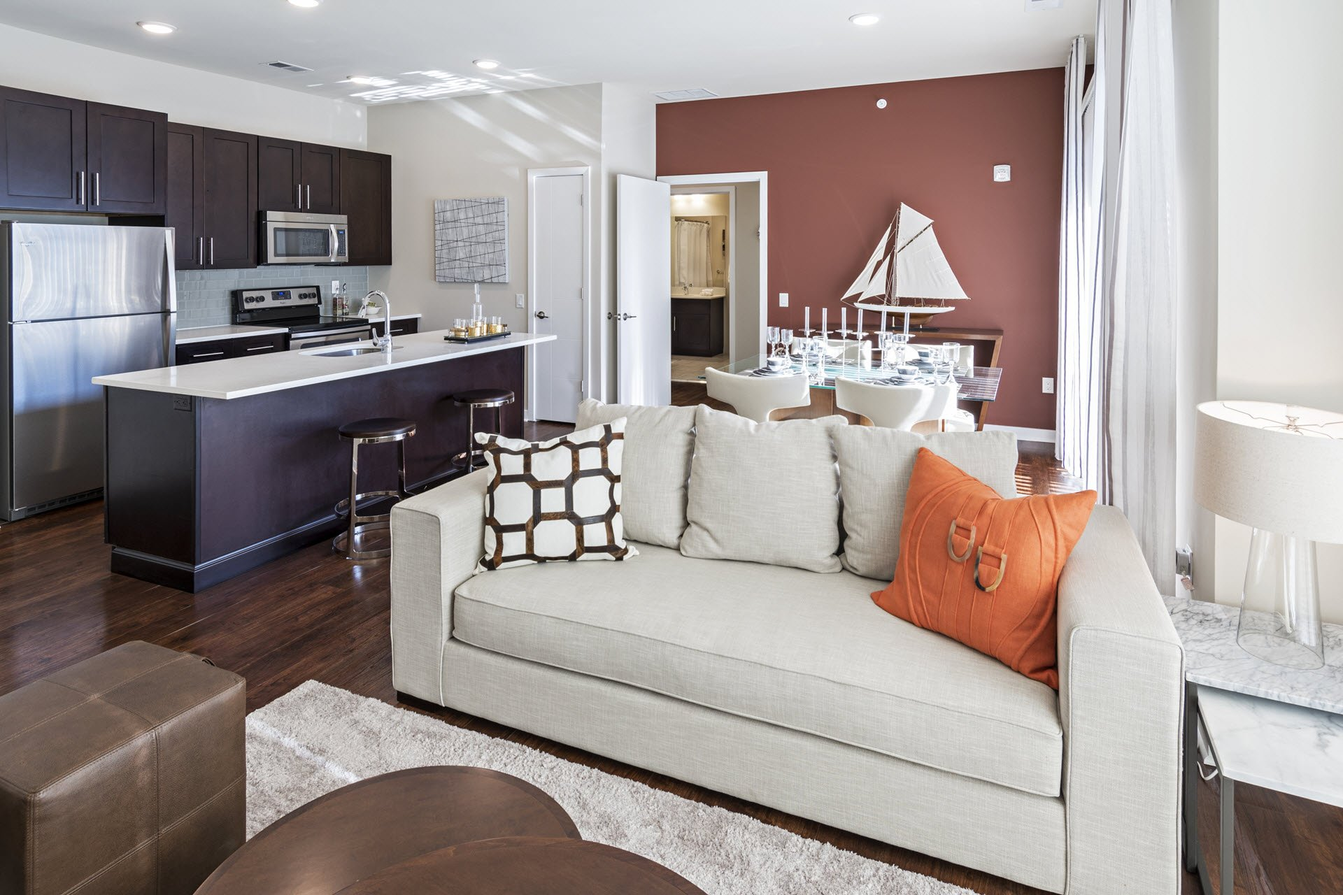Open Floorplans at West Side Lofts, Red Bank NJ 07701