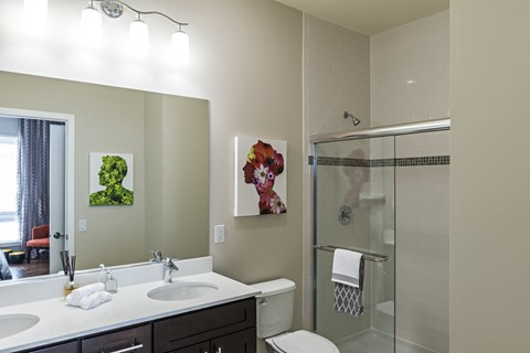 Spacious Bathrooms at West Side Lofts, Red Bank NJ 07701