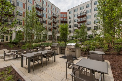Chill With Your Friends At Outdoor Grill at Highgate at the Mile, McLean, VA, 22102
