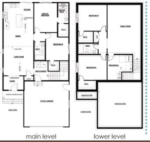 Rambler #15-4 Bed/3 Bath-Fnshd Basement