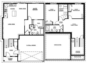 Bi-Level Twin Home-Option A