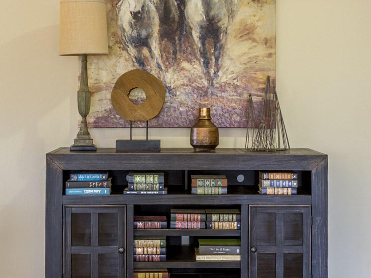 Bookcase & Decor