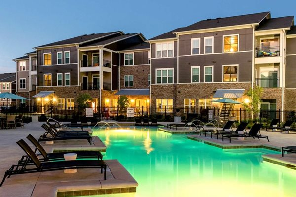 Sparkling Resort-style Pool at The Village at Apison Pike, Ooltewah, TN