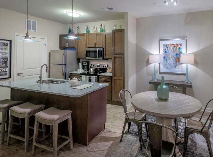 Convenient Kitchen Island at The Village at Apison Pike, 37363