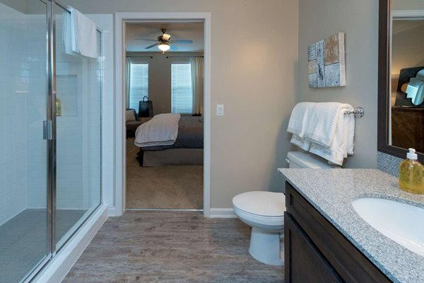 Walk-in Shower at The Village at Apison Pike, Ooltewah