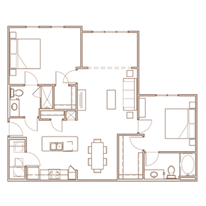 The Lookout II Floorplan Layout at The Village at Apison Pike, 37363