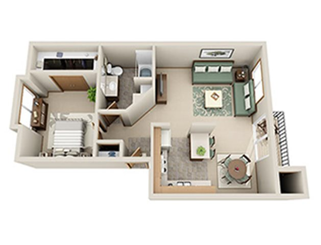 Indigo Floor Plan 1