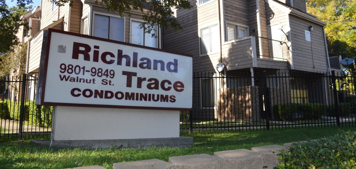 richland trace owners association hoa condos in dallas tx