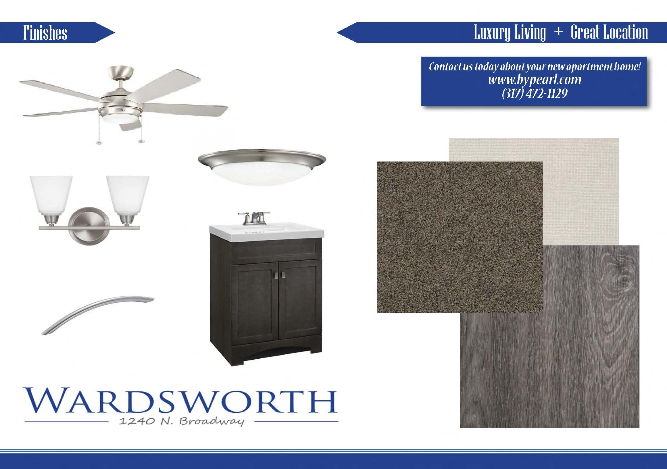 Wardsworth Upgrades and Finishes