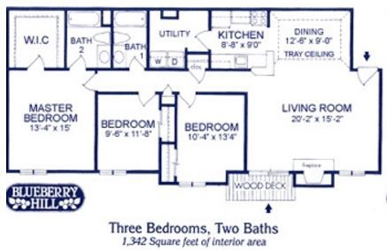 Three Bedroom Apartment at Blueberry Hill Apartments, Rochester, NY