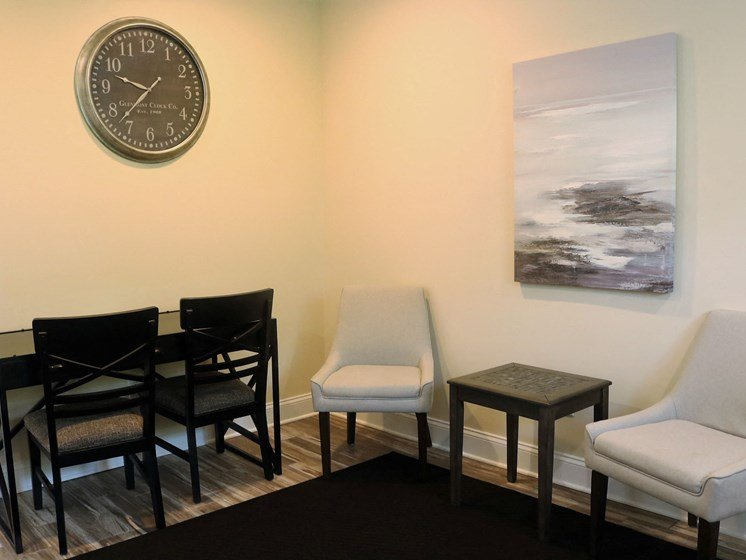 Inside Leasing Office at Blueberry Hill Apartments, Rochester, NY