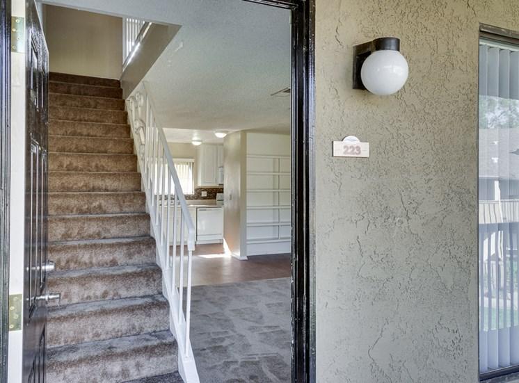 Designed Staircase at Highlander Park Apts, Riverside, 92507