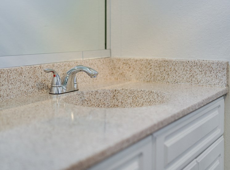 Bathroom Faucet at Highlander Park Apts, Riverside