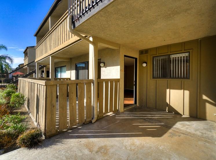 Balconies Or Patios at Highlander Park Apts, Riverside, CA, 92507
