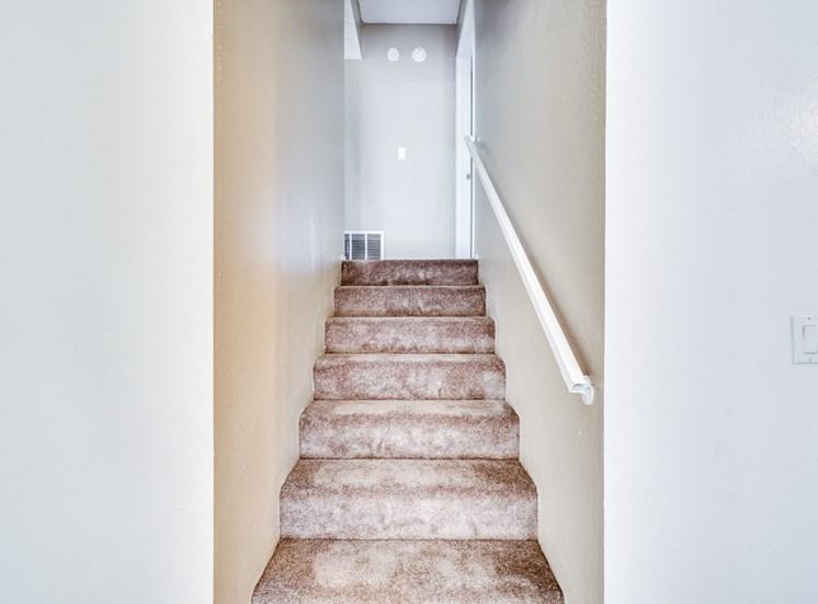 Staircase at Highlander Park Apts, California, 92507