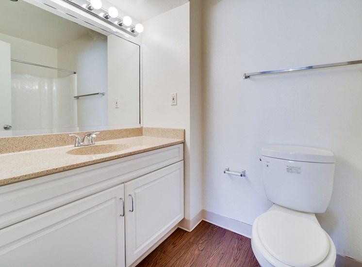 Luxurious Bathrooms at Highlander Park Apts, Riverside, California