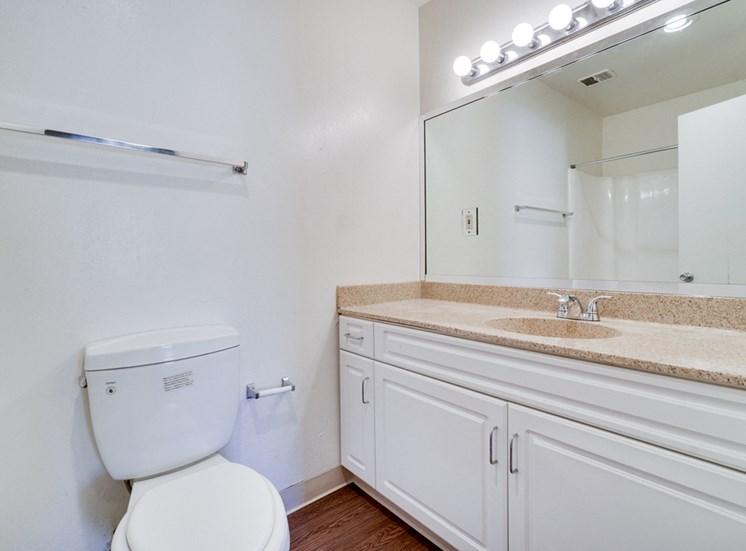 Modern Bathroom Fittings at Highlander Park Apts, Riverside, CA