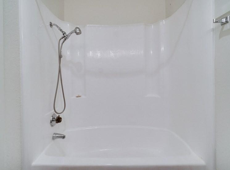 Oval Tub With Combo Shower at Highlander Park Apts, Riverside, 92507