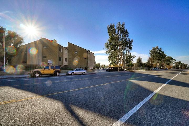 Beautiful Roads at Highlander Park Apts, Riverside, CA