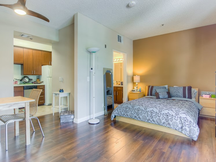 Bedroom With Kitchen Combo at Hollywood Vista, Hollywood, CA, 90046