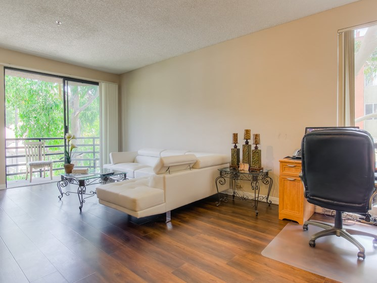 Living Room With Office Spaces at Hollywood Vista, Hollywood, 90046