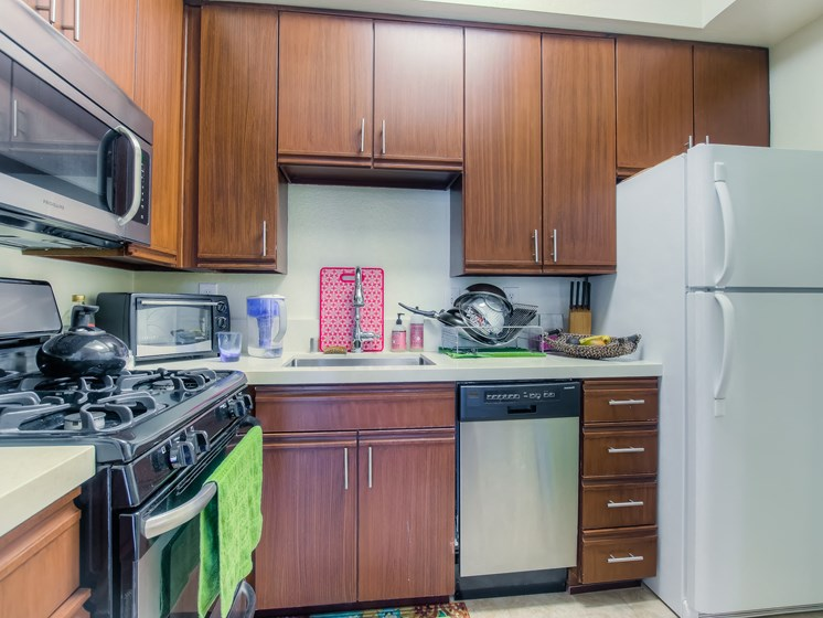 Fully Equipped Kitchen With Modern Appliances at Hollywood Vista, Hollywood, California