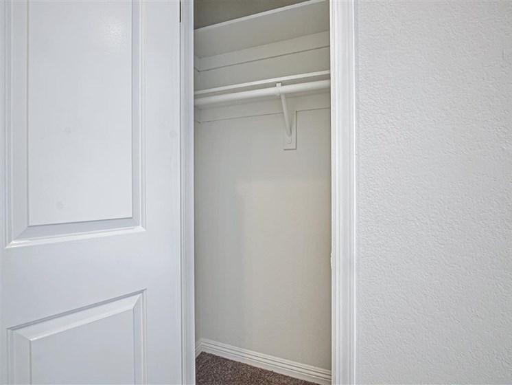 Closet View at Hollywood Vista, California