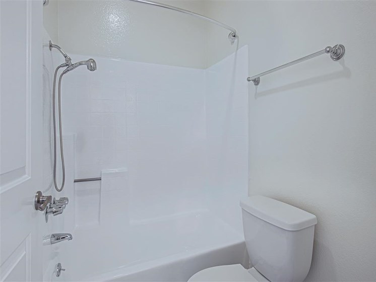 Updated Bathrooms at Hollywood Vista, Hollywood, CA
