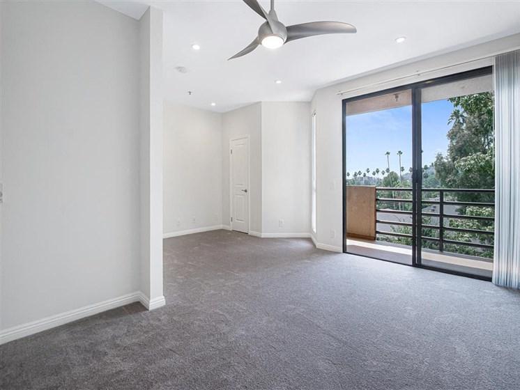 Spacious Living Room at Hollywood Vista, Hollywood, CA, 90046