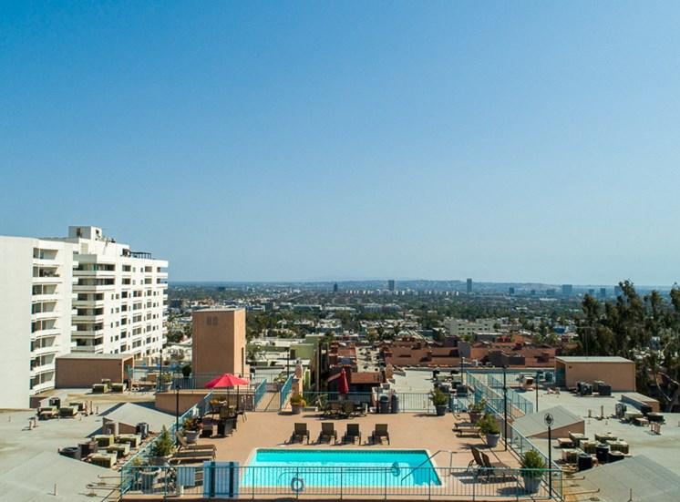 Hollywood Views  at La Vista Terrace, Hollywood, California