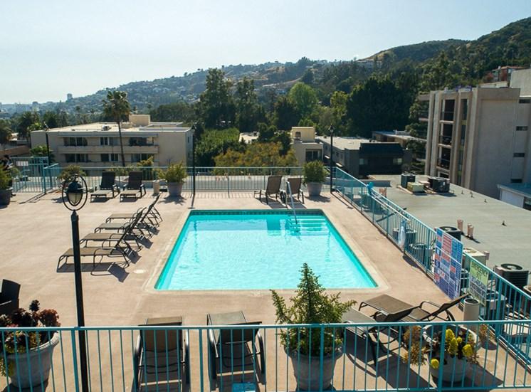 Pool View at La Vista Terrace, California