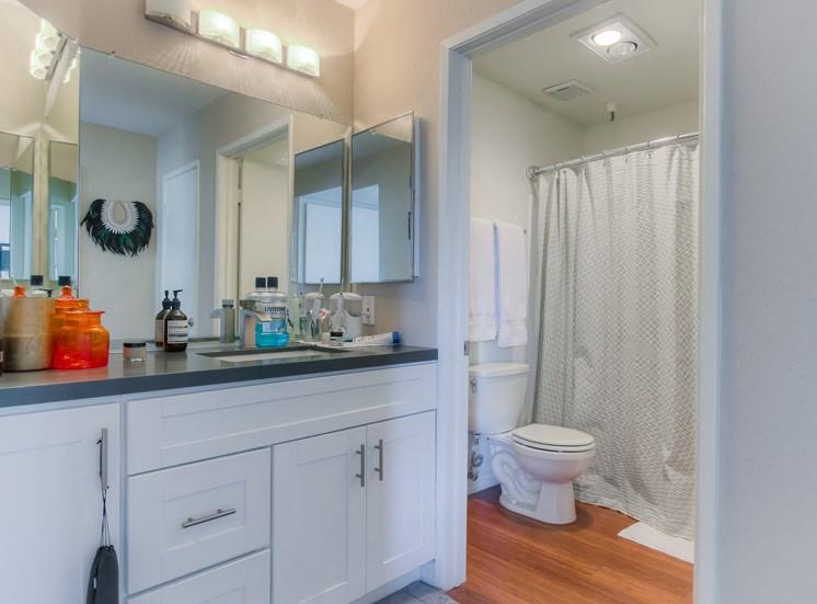 Additional Bathroom at La Vista Terrace, Hollywood, California