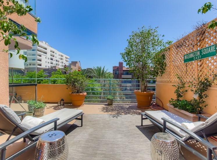 Attractive Terrace at La Vista Terrace, Hollywood, CA, 90046