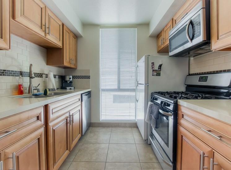 complete Kitchen at La Vista Terrace, California, 90046