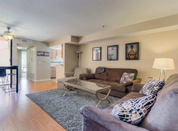 Elegant Interiors at La Vista Terrace, Hollywood, CA, 90046