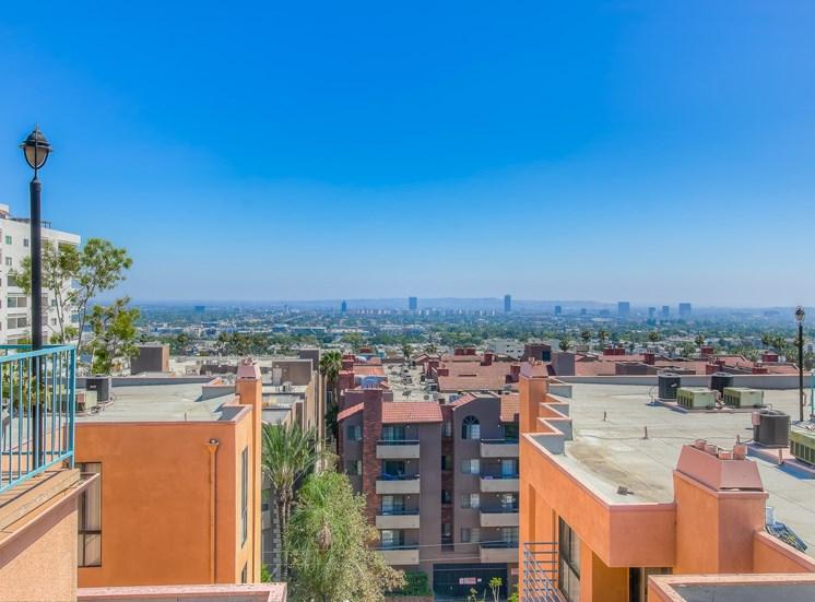 Clear View at La Vista Terrace, Hollywood, California