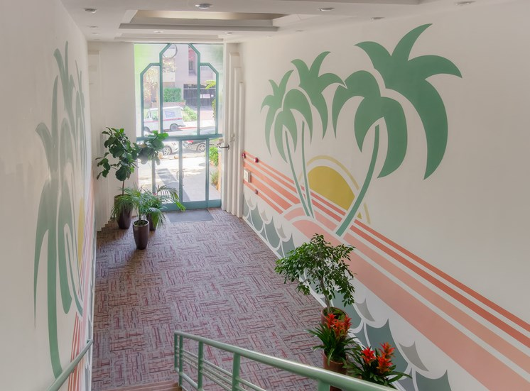 Grand Entrance at La Vista Terrace, California, 90046