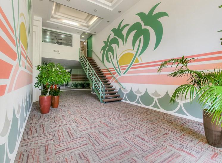 Private Entrance at La Vista Terrace, Hollywood, CA, 90046