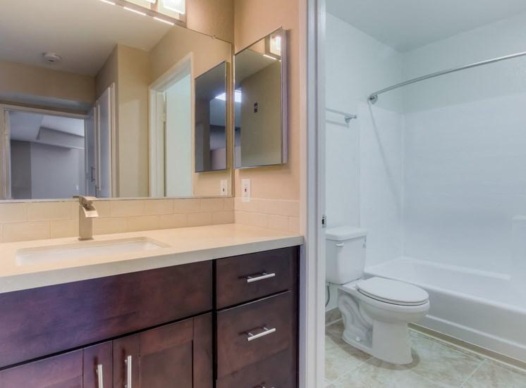 Designer Bathroom Suites at La Vista Terrace, Hollywood, CA, 90046