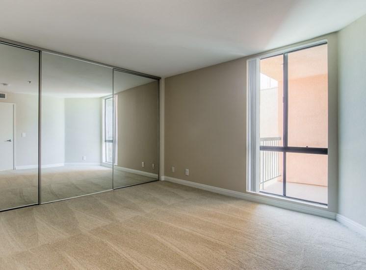 Large Closet at La Vista Terrace, Hollywood