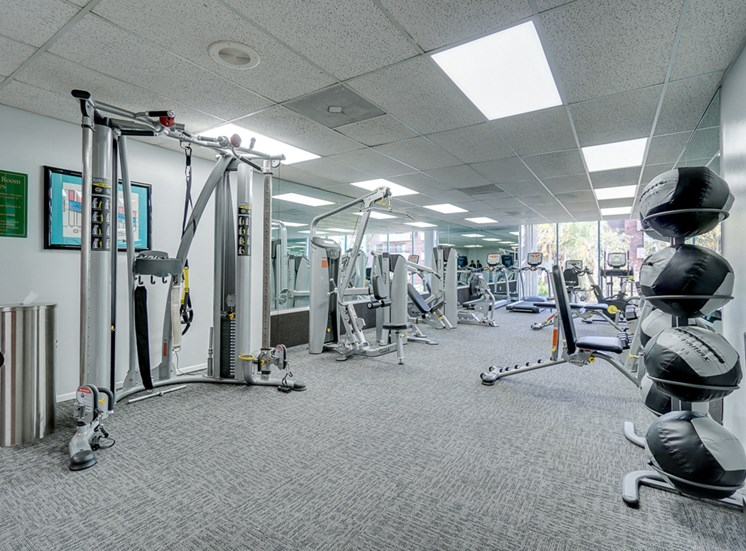 Club-Quality Fitness Center at La Vista Terrace, Hollywood, 90046